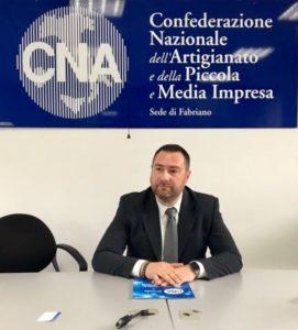Maurizio Romagnoli presidente Cna di Fabriano