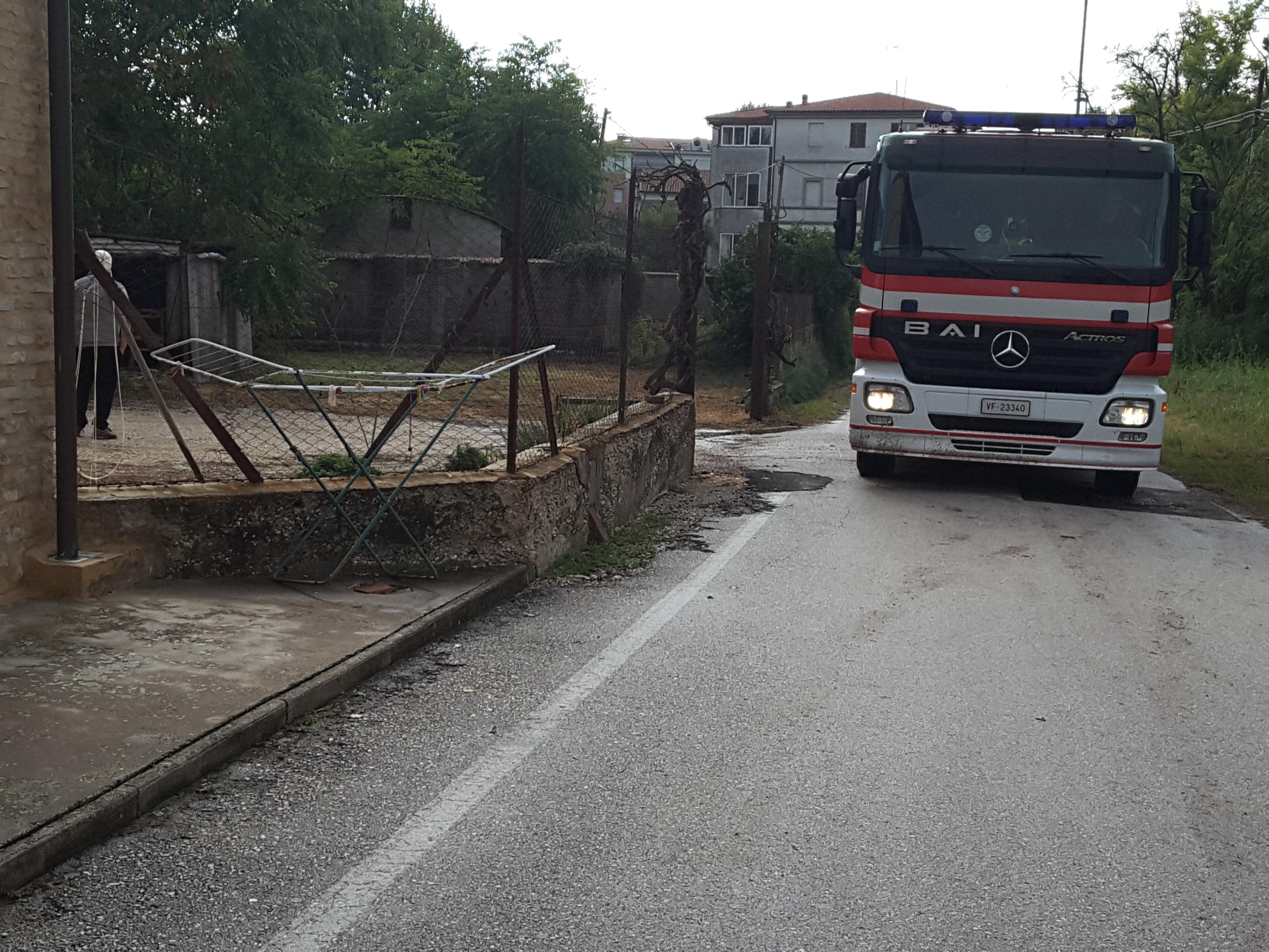 iIncendio via del Tornabrocco