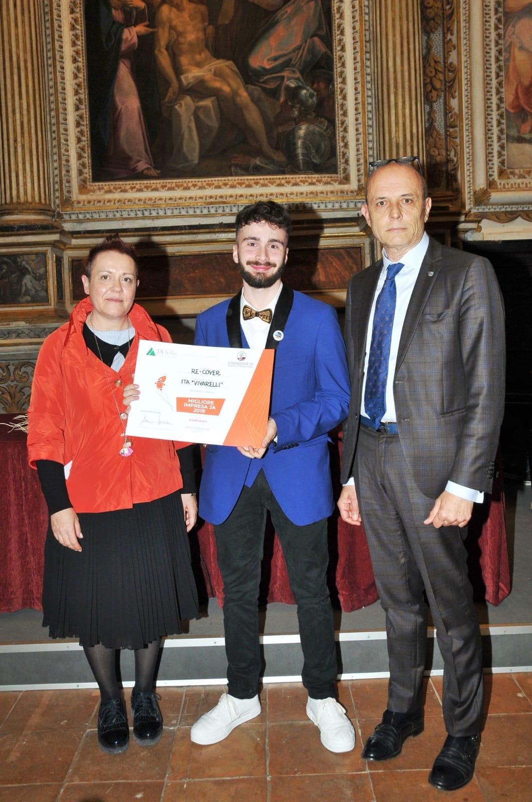 Re-Cover premiazione Pagnoncelli-Ottaviani foto