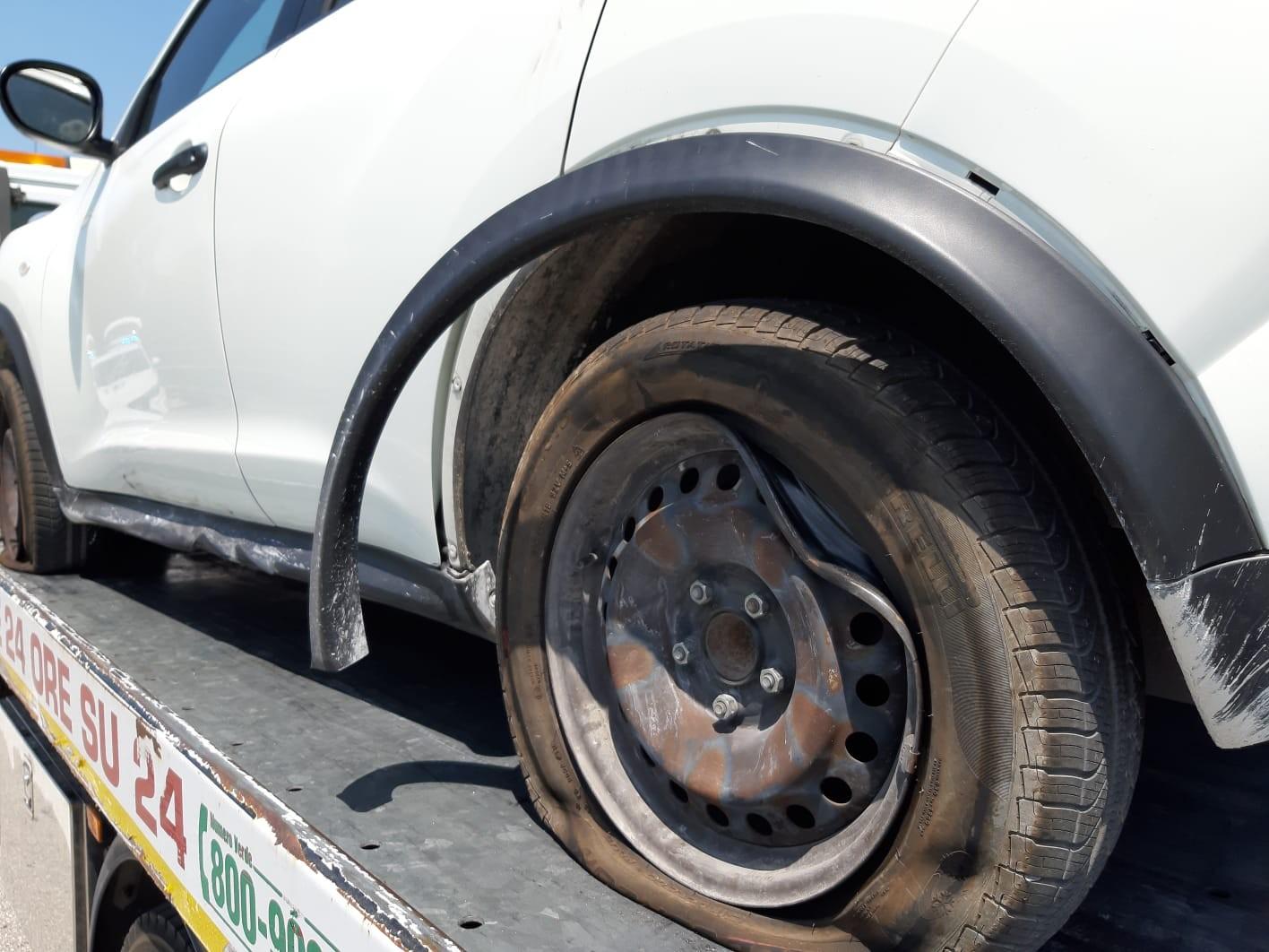 Auto coinvolte incidente jesi 20 luglio