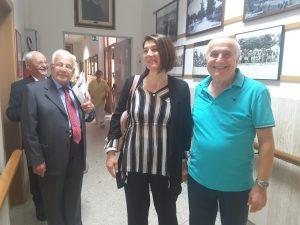 L'assessora Marisa Campanelli al raduno degli ex alunni del Collegio Pergolesi di Jesi