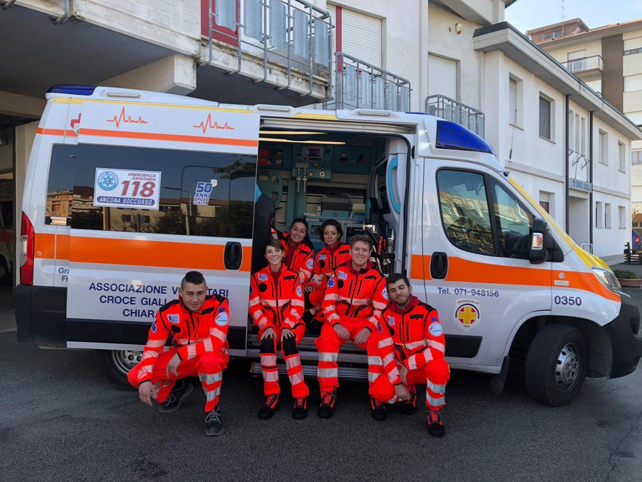 Un anno di servizio civile alla Croce Gialla di Chiaravalle