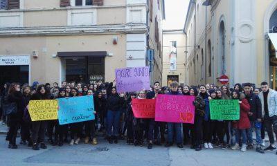 sciopero Galilei Les dopo trasloco
