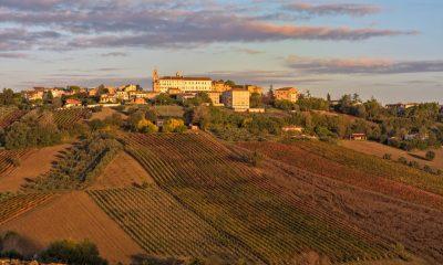 Foto panoramica di Morro d'Alba