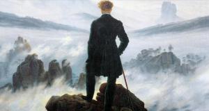 Viandante su un mare di nebbia