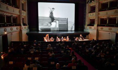 Cineconcerto Buster Keaton fondazione pergolesi