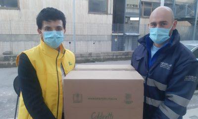 coldiretti consegna pacchi solidarietà ad Ascoli