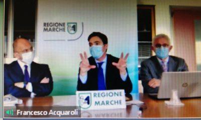 Il Presidente di Confartigianato Marche Giuseppe Mazzarella incontra il Presidente della Regione Acquaroli