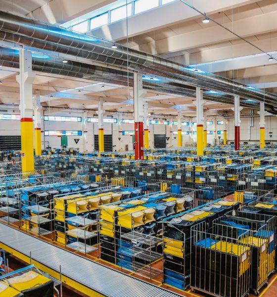 Amazon Logistics, nuovo deposito smistamento a camerano