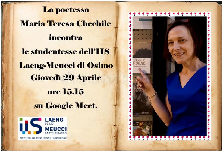 maria teresa chechile evento 29 aprile
