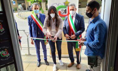 inaugurazione punto informativo del Club ufficiali Marchigiani