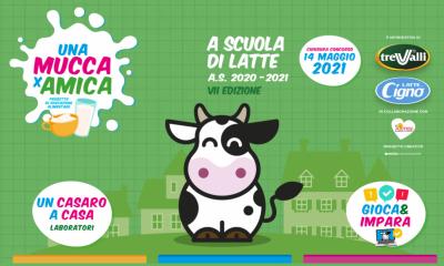 A scuola di latte progetto Trevalli 2020-2021