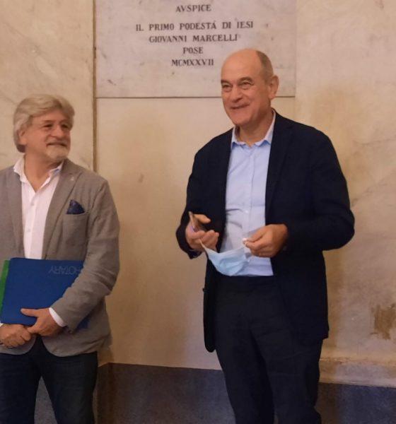 pietro aresta e Massimo Bacci