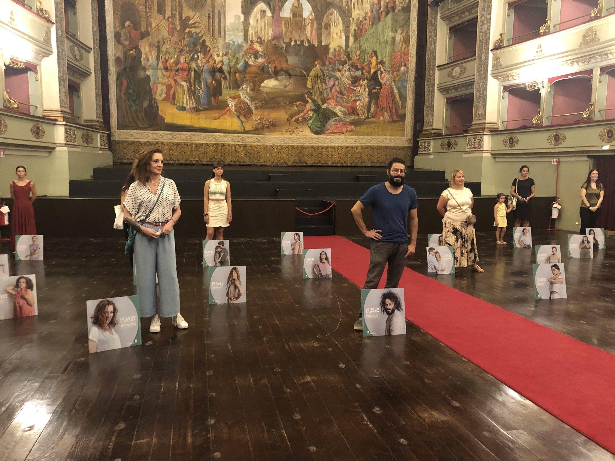 Teatro Pergolesi, presentazione Io sono l'opera